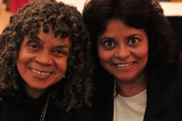 Sonia Sanchez and Jacqueline Wood