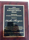 LAB Award 8-20