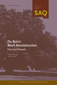 "SAQ 112:3, ""Du Bois's Black Reconstruction: Past and Present"""