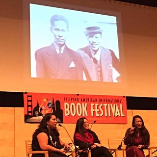 Dawn at Filipino American Book Fest