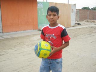 Fernando and ball